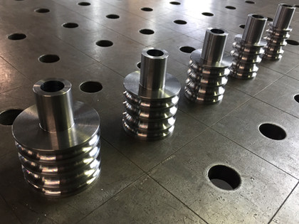 CNC-turned custom tooling