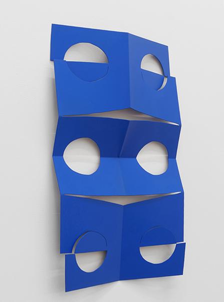 Wall-mounted sculpture