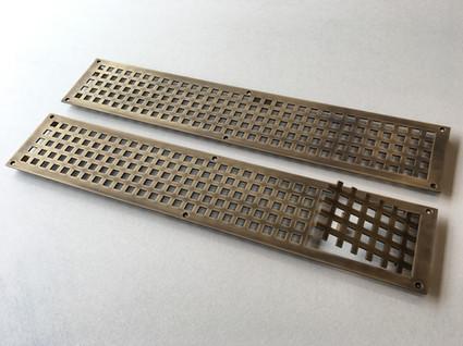 custom brass radiator covers
