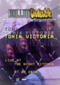Tonia Victoria LIVE Hallamshower by Shannon Avene
