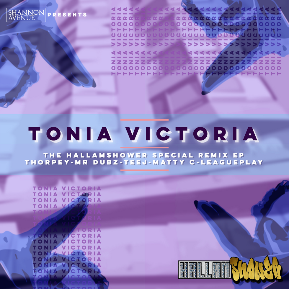 Tonia Victoria - The Hallamshower Special Remix EP