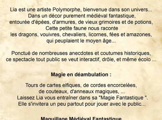 LC medieval fantastique