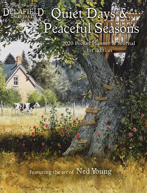 Quiet Days and Peaceful Seasons Pocket Planner