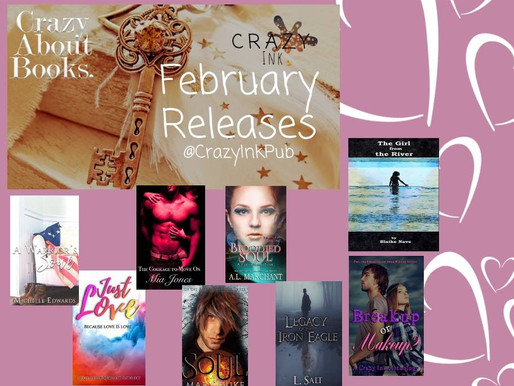 Crazy Ink February Releases