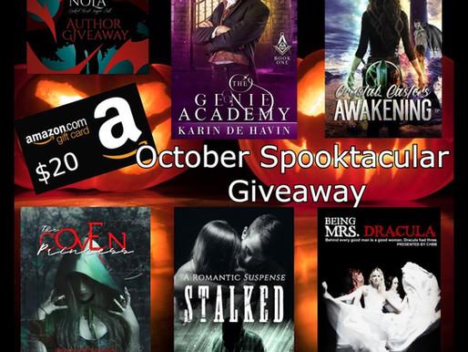 October Spooktacular Giveaway