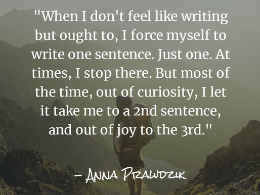 Advice from an author to an author.