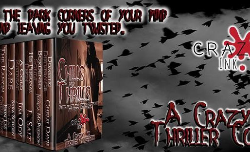 This is a Crazy Ink thriller collection that will be out May 27.