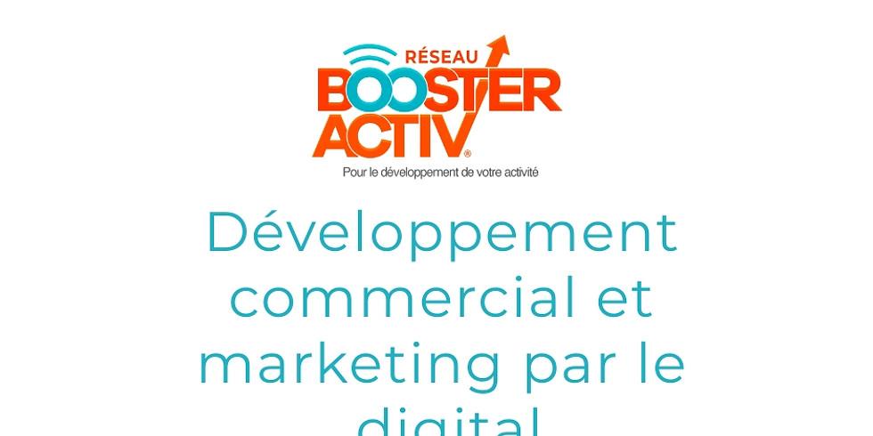 Développement commercial et marketing par le digital