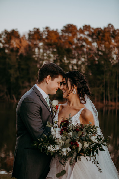 Karrie Bennett with Florafost photography. Pine Lake Ranch Venue.