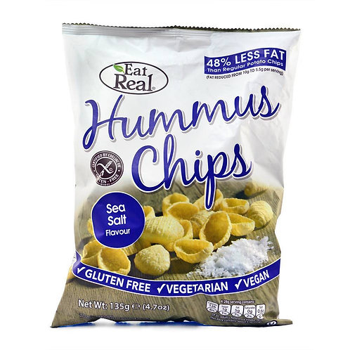 Eat Real Hummus Sea Salt Chips 135g