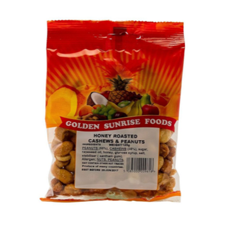 Golden Sunrise Honey Cashews Peanuts 100g
