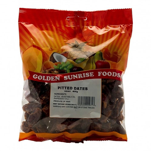 Golden Sunrise Pitted Dates 400g