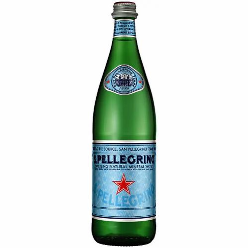 San Pellegrino Sparkling Natural Mineral Water 750ml