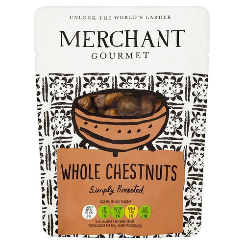 Merchant Gourmet Whole Cooked Chestnuts 180gr