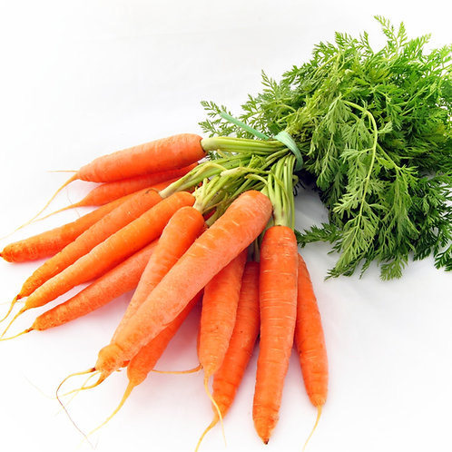 British Bunched Carrots