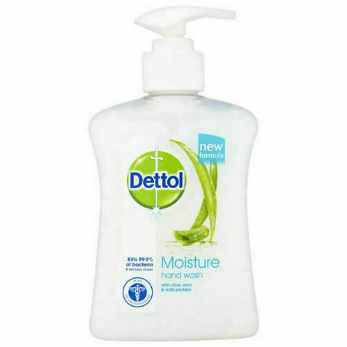 Dettol Moisture Anti-Bacterial Hand Wash with Aloe Vera 250ml