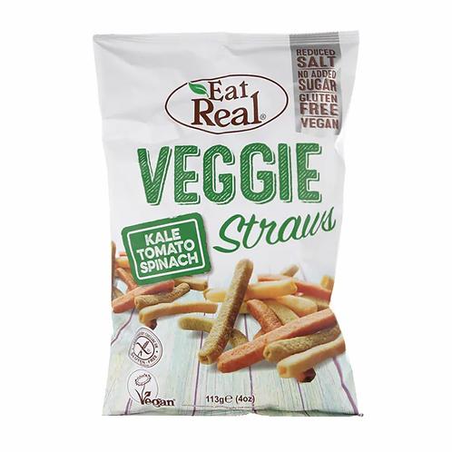 Eat Real Veggie Straws 113g