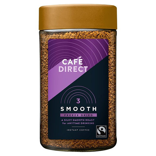 Cafedirect Fairtrade Smooth Roast Instant Coffee 200g