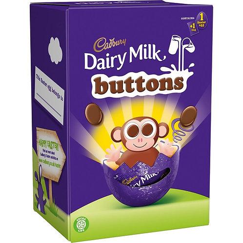 Cadbury Dairy Milk Buttons Easter Egg 74g
