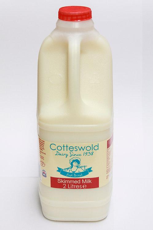 Skimmed Milk 2Ltr