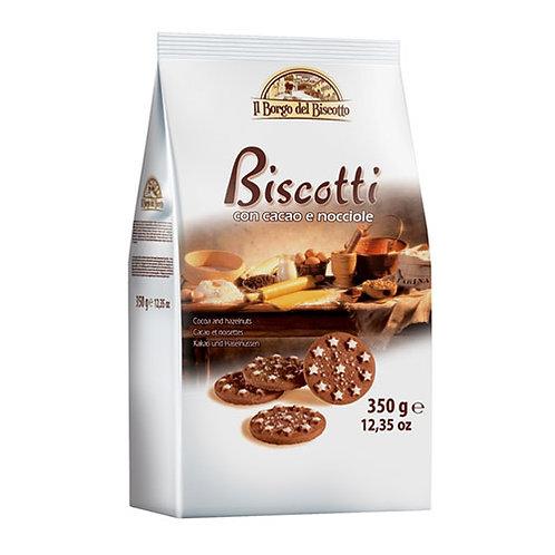 Il Borgo del Biscotto Chocolate and Hazelnut Biscuits 350gr