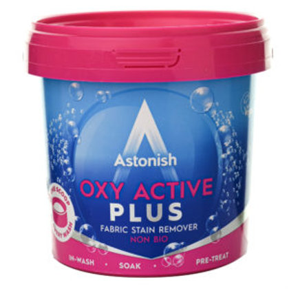 ASTONISH OXY ACTIVE FABRIC STAIN REMOVER NON-BIO 500GR