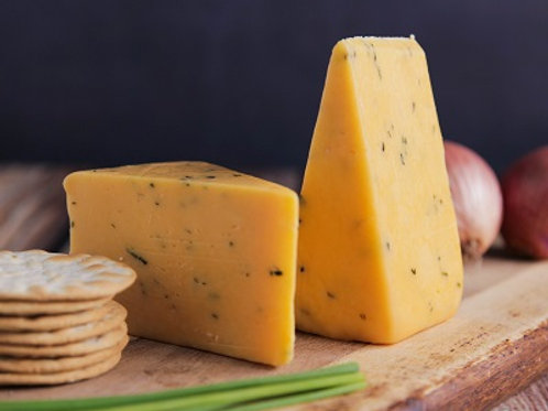 GLOUCESTER CHEESE & CHIVES 150GR PIECES