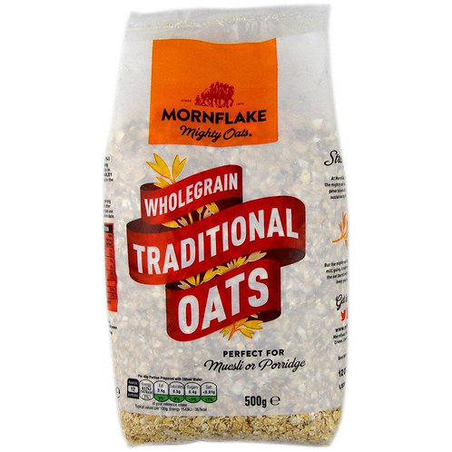 Mornflake Wholegrain Traditional Oats 500g