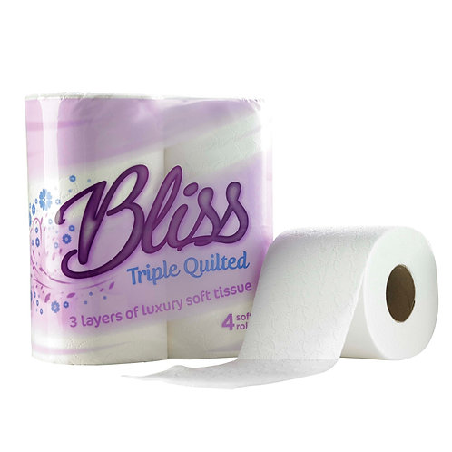 Triple Quilted Tissue Roll 4 Pack