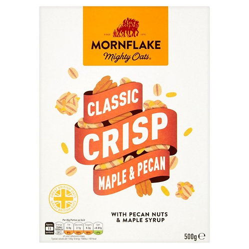 Mornflake Classic Crisp Maple & Pecan 500g