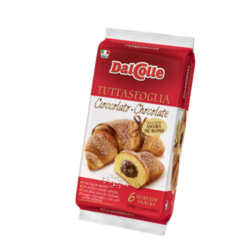 Dal Colle Chocolate Filled Croissant (6 x 45gr)