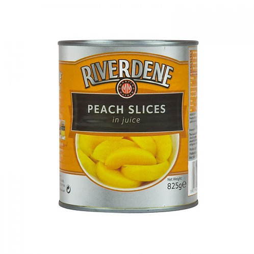 PEACH SLICES 825GR TIN