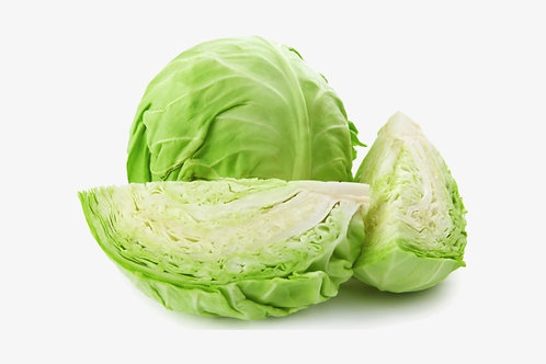 DUTCH WHITE CABBAGE EACH (APPROX. 2KG)