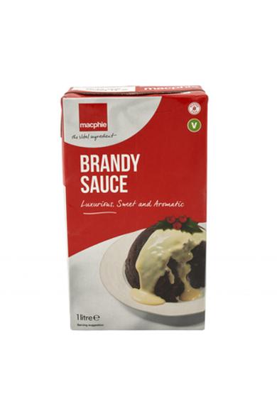 Macphie Creamy Brandy Sauce 1 Litre