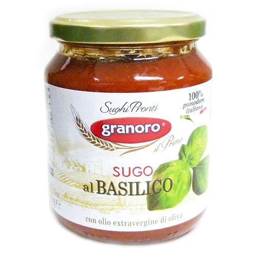 Granoro Basil Sauce 370gr
