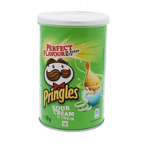 Pringles Sour Cream Crisps 70g