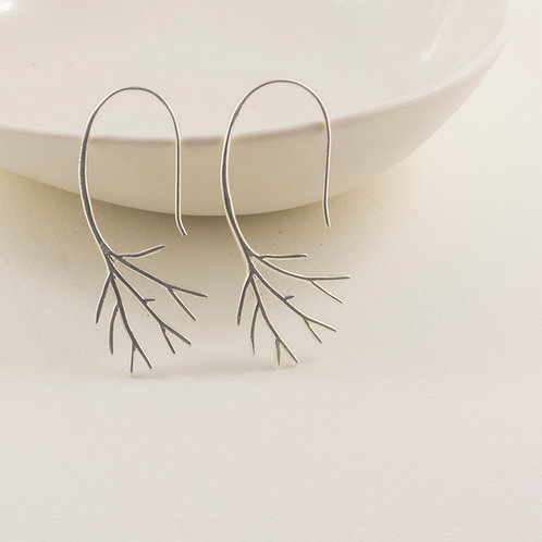 tree hook earrings