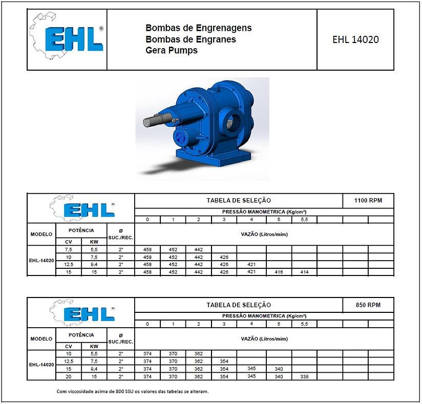 Bomba EHL14020