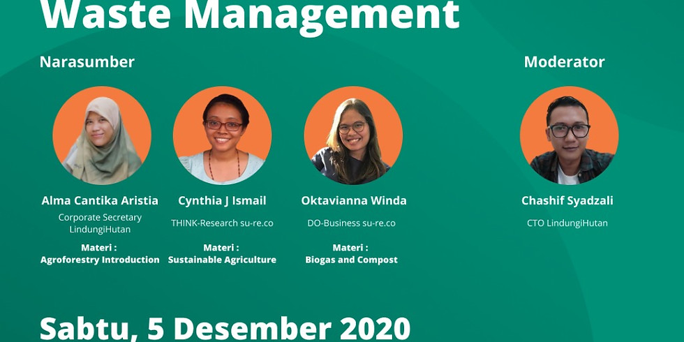 Low Carbon Development in Agroforestry and Waste Management