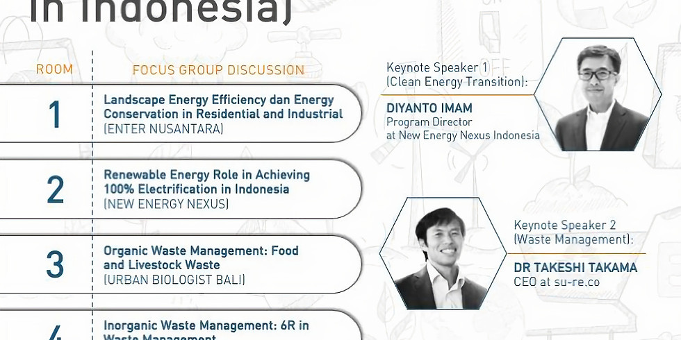 FGD for Youth (Energy and Waste in Indonesia)