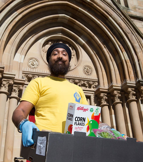 Charandeep Singh, The Sikh Food Bank by