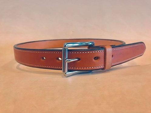 1 1/2 in Lined Vegtan Leather Belt