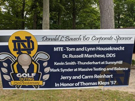 ND Annual Golf Tournament /Summer 2020