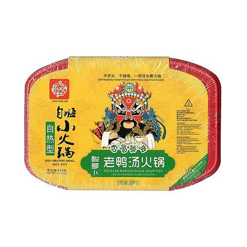 月月红老鸭汤自热小火锅410g