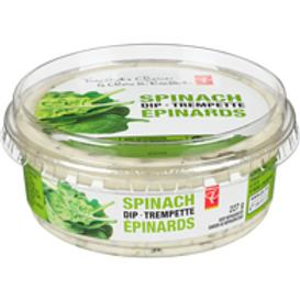 PRESIDENT'S CHOICE,Spinach Dip 227 g