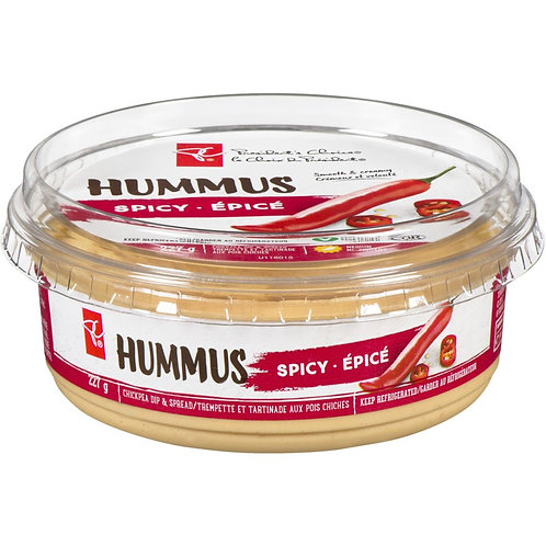 PRESIDENT'S CHOICE,Hummus, Spicy 227 g