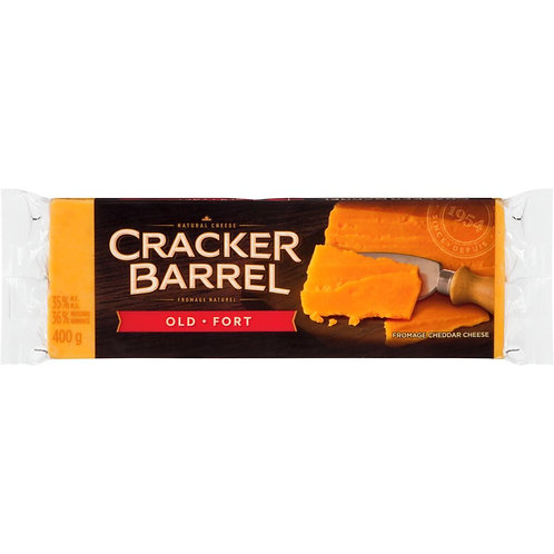 CRACKER BARREL Bar Old Cheddar 400 g