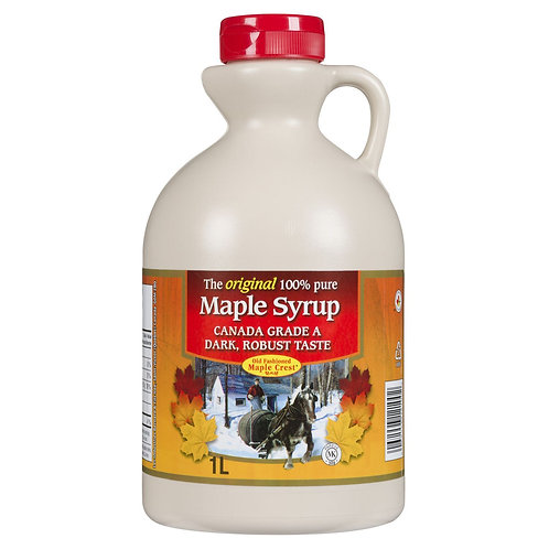 100% Pure Maple Syrup 1 L