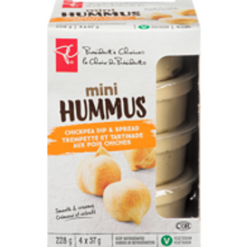 PRESIDENT'S CHOICE,Hummus, Mini 228 g