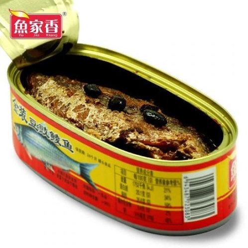 鱼家香豆豉鲮鱼 207G
